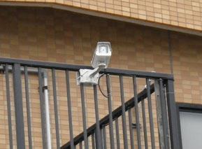 防犯カメラ設置しました